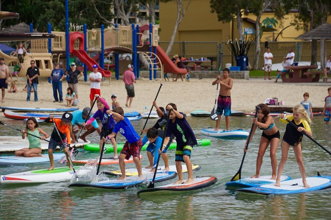 404 SUP - Beyond the Shore Paddlefest - Kids Race