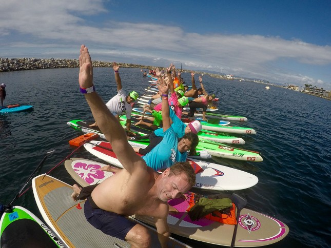 404 SUP - Beyond the Shore Paddlefest - SUP Yoga