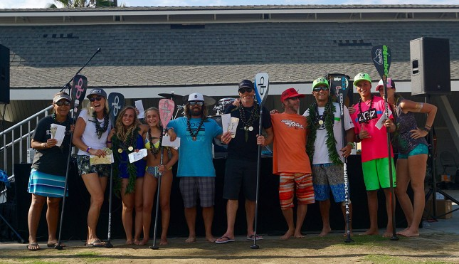 404 SUP - Beyond the Shore Paddlefest - winners