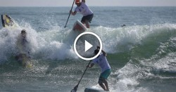 Japan Cup stand up paddling race video