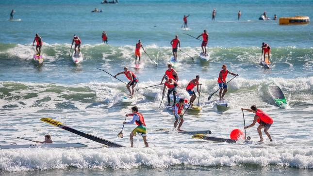 Pacific Paddle Games doheny waves carnage