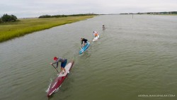 Surf To Sound stand up paddling race Wrightsville Beach NC