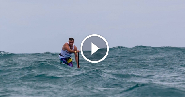 King-of-the-Cut-downwind-SUP-video