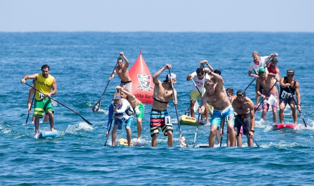ISA stand up paddleboarding