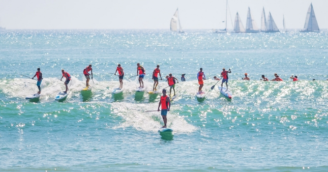 PPGs stand up paddle race