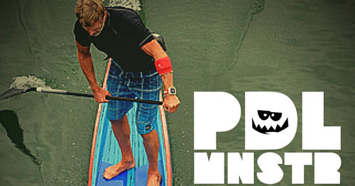 Paddle Monster SUP race training