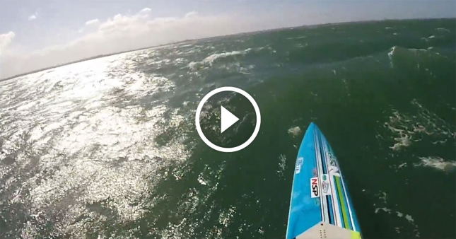 downwind stand up paddle board