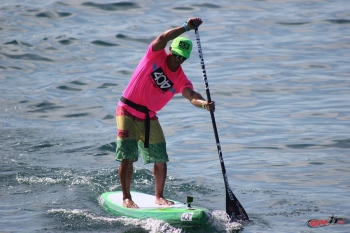 Danny Ching stand up paddle