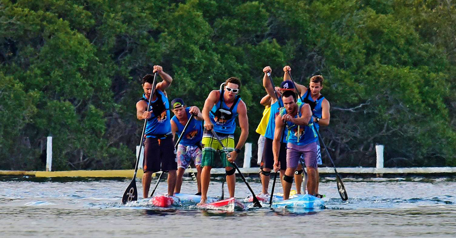 Contender Michael Booth Wins The Forster Island Paddle