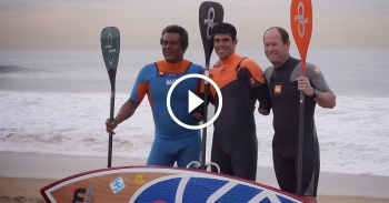 Jonas Letieri stand up paddle