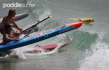Noosa Festival of Surfing stand up paddling race