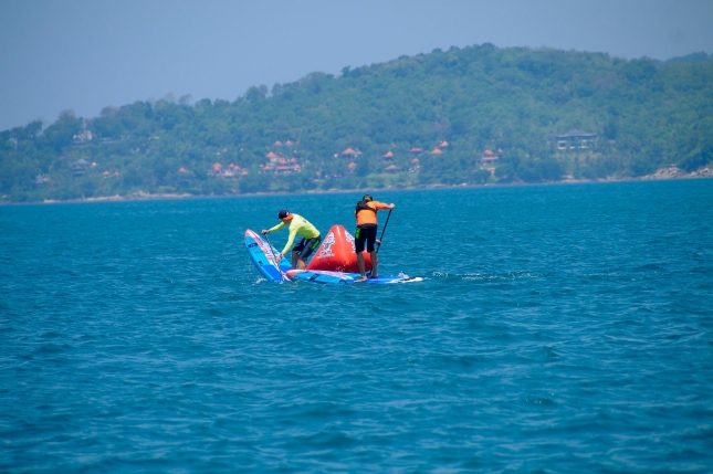 Thailand stand up paddle race