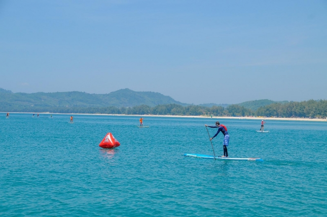 stand up paddle phuket thailand