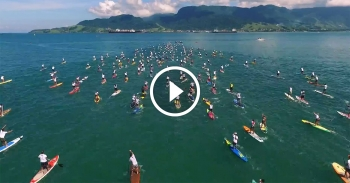 Aloha Spirit Festival stand up paddle Brazil