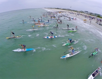 Carolina Cup paddleboard race