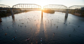 Chattajack paddleboard race