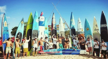 Coconut Cup stand up paddleboard race
