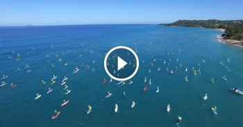 Rincon Beachboy Stand Up Paddle Board race