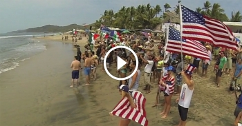Chasing Gold stand up paddle board movie Team USA