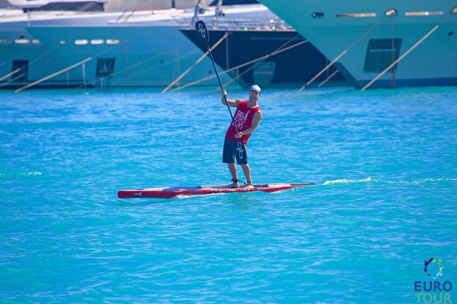 Christopher Parker SUP Racer