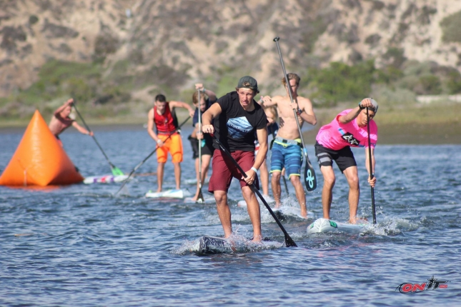 Junior stand up paddleboarding