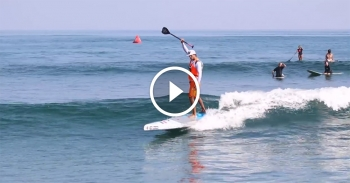 Paddleboarding in Sayulita Mexico