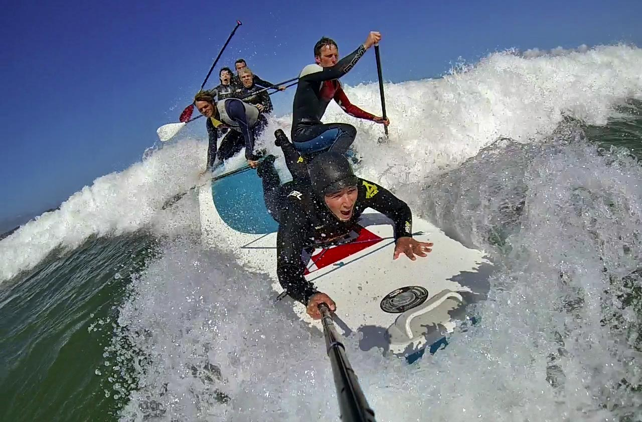 eurotour goes xl fun with red paddle co 39 s big inflatables sup racer. Black Bedroom Furniture Sets. Home Design Ideas