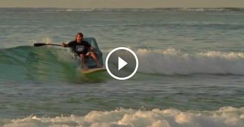Stand Up Paddle SUP couch surfing video