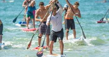 Stand Up Paddleboard race
