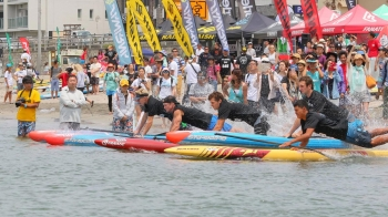 Japan APP Paddle board race
