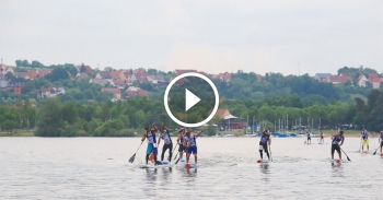 2016 Lost Mills paddleboarding video