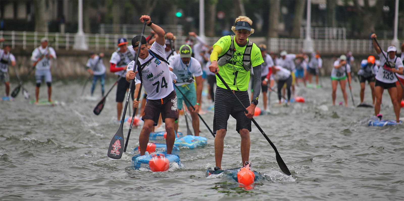 Bilbao World SUP Challenge Connor Baxter