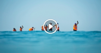 EuroSUP paddle boarding video