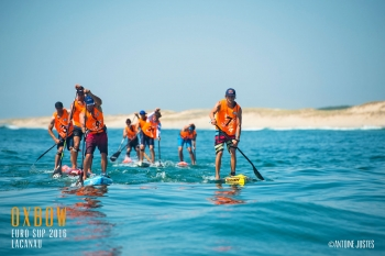 EuroSUP stand up paddleboarding race 1