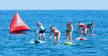 ISA World Championships stand up paddleboarding