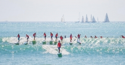 Pacific Paddle Games paddleboard race