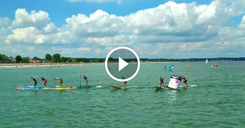 Super Lap paddleboarding