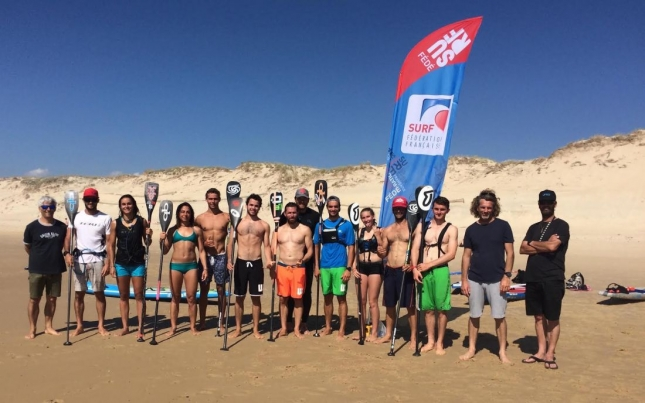 Team France Stand Up Paddleboarding 2016