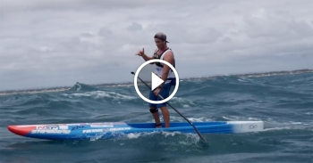 King of the Cut paddleboard race video