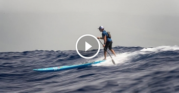 Maui 2 Molokai paddleboarding video