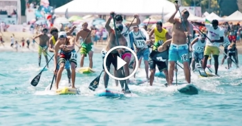 2016 isa world stand up paddleboard championship fiji video