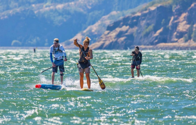 Gorge Paddle Challenge SUP Race Hood River Oregon