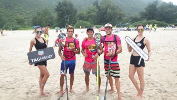 Hong Kong stand up paddle board race