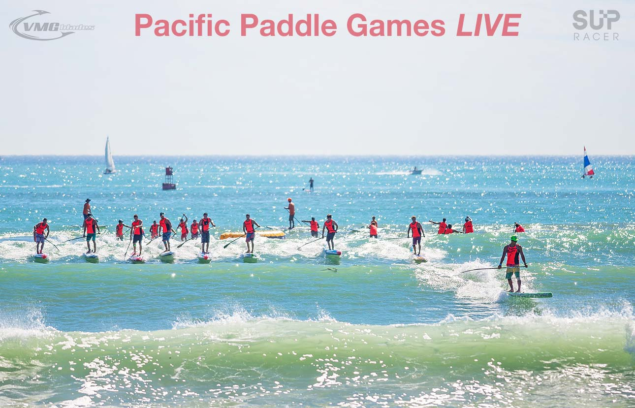 Pacific Paddle Games live webcast