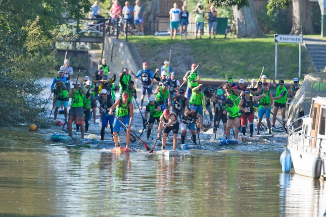 11 City Tour paddle race