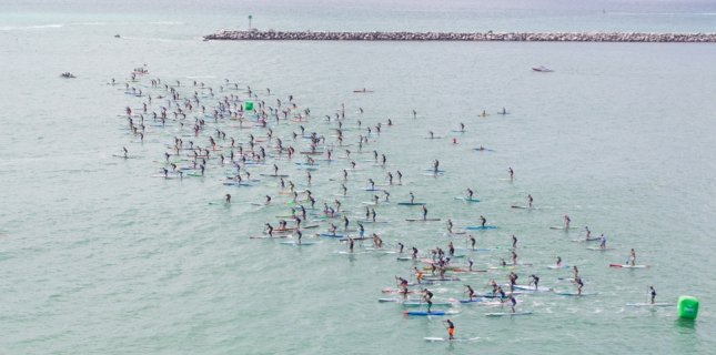 Pacific Paddle Games open race (photo: SUP the Mag)