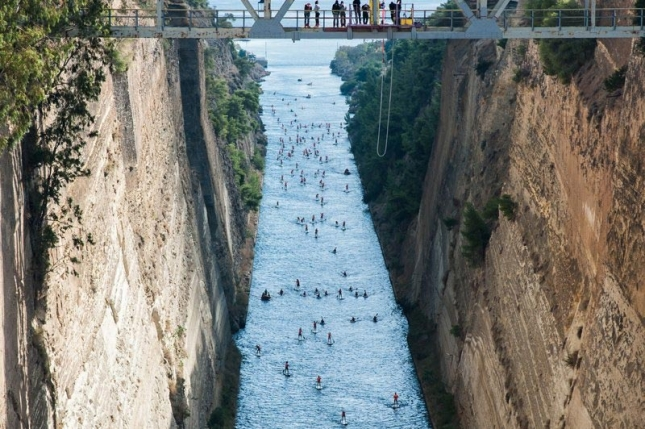 bucket list aerial highlights from the 6th annual corinth canal