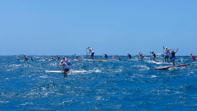 12 Towers stand up paddle boarding race