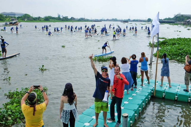 Stand Up Paddle Boarding in Bangkok Thailand (11)