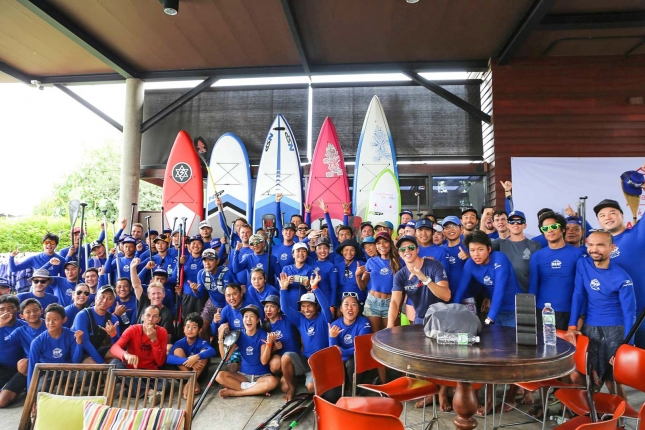 Stand Up Paddle Boarding in Bangkok Thailand (14)